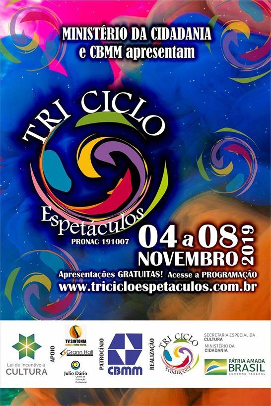 """Escolas públicas e instituições recebem projeto Tri Ciclo Espetáculos com a peça """"Brincando Com o Tempo"""" 1"""