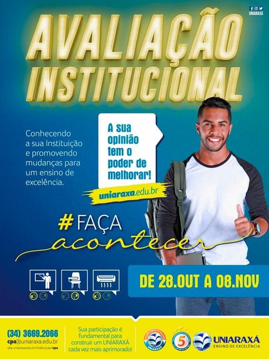 Uniaraxá realiza mais um processo Avaliação Institucional 1