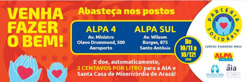 AIA e Postos Alpa lançam Parceria Solidária em prol da Quimioterapia da Santa Casa 1