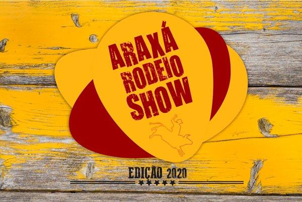 Programação oficial do Araxá Rodeio Show 2020