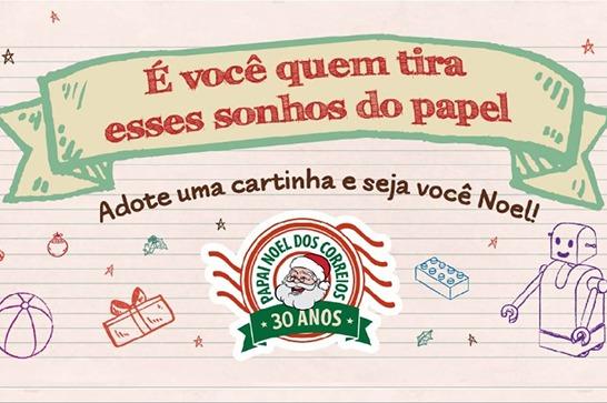 Campanha Papai Noel dos Correios 2019