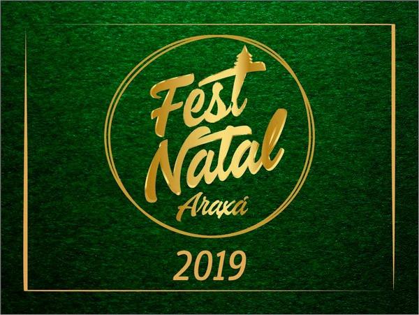 Cem mil pessoas participaram das atividades do FestNatal Araxá em 2019