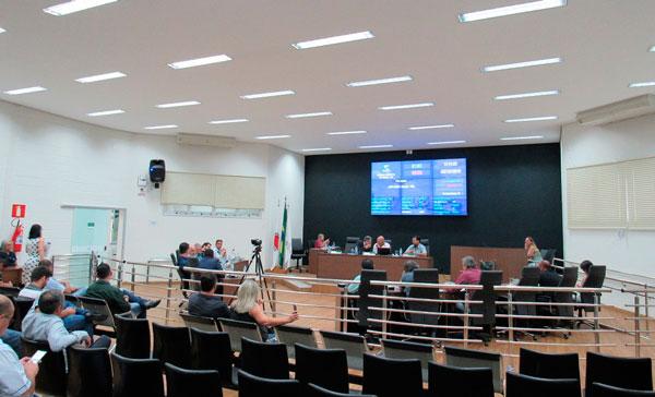 Destaques da reunião ordinária da Câmara Municipal de Araxá – 03/12/2019