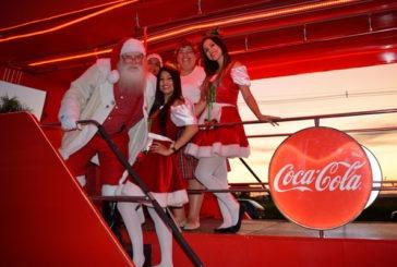Papai Noel chega nesta sexta-feira (13) a Araxá; concentração é no Expominas