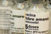 Estado reforça importância da vacina contra febre amarela