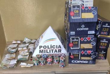 Dezenove pessoas são detidas por envolvimento com o jogo de azar