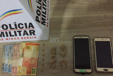 PM prende usuários e suspeitos de tráfico no Santa Mônica