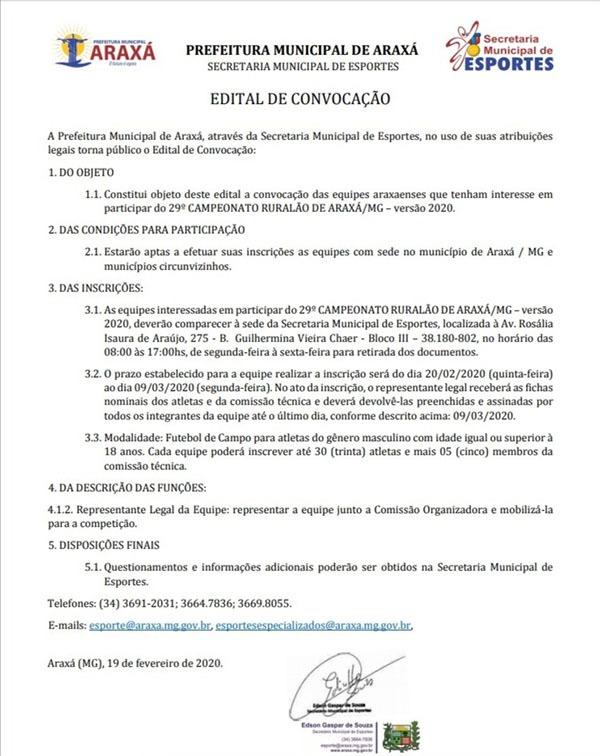 Inscrições para o Ruralão 2020 já estão abertas 1