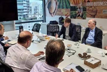 Prefeito Aracely e diretores da McCain se reúnem para tratativas finais de implantação da fábrica em Araxá