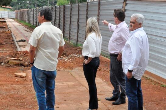 Iniciada a revitalização da Praça da Juventude, no bairro Urciano Lemos 1