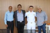 Prefeitura de Araxá recebe visita do Comandante da Capitania Fluvial de Minas Gerais