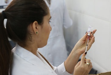 Dia D de Contra o Sarampo e atualização do cartão de vacinas