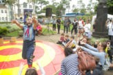 Circo proporciona entretenimento para mais de 1 mil pessoas