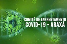 Duas mortes por coronavírus são investigadas em Araxá; confira o boletim