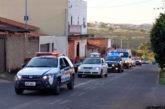 Carreata de forças de segurança percorre Araxá para orientar a população sobre os cuidados contra o Coronavírus