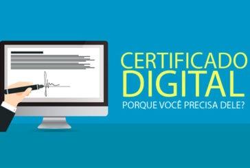 Certificação digital pode ser feita pela internet