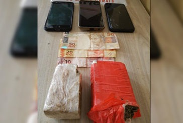 PM prende suspeitos e apreende tabletes de maconha no Boa Vista