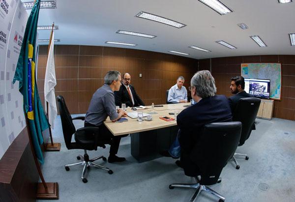 Romeu Zema reforça trabalho de prevenção e defende ações do governo federal para minimizar impactos econômicos do coronavírus