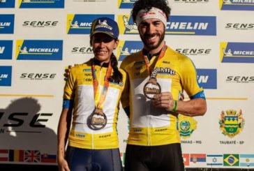 Argentina Paula Quiros e brasileiro Henrique Avancini são campeões do Contrarrelógio na CIMTB