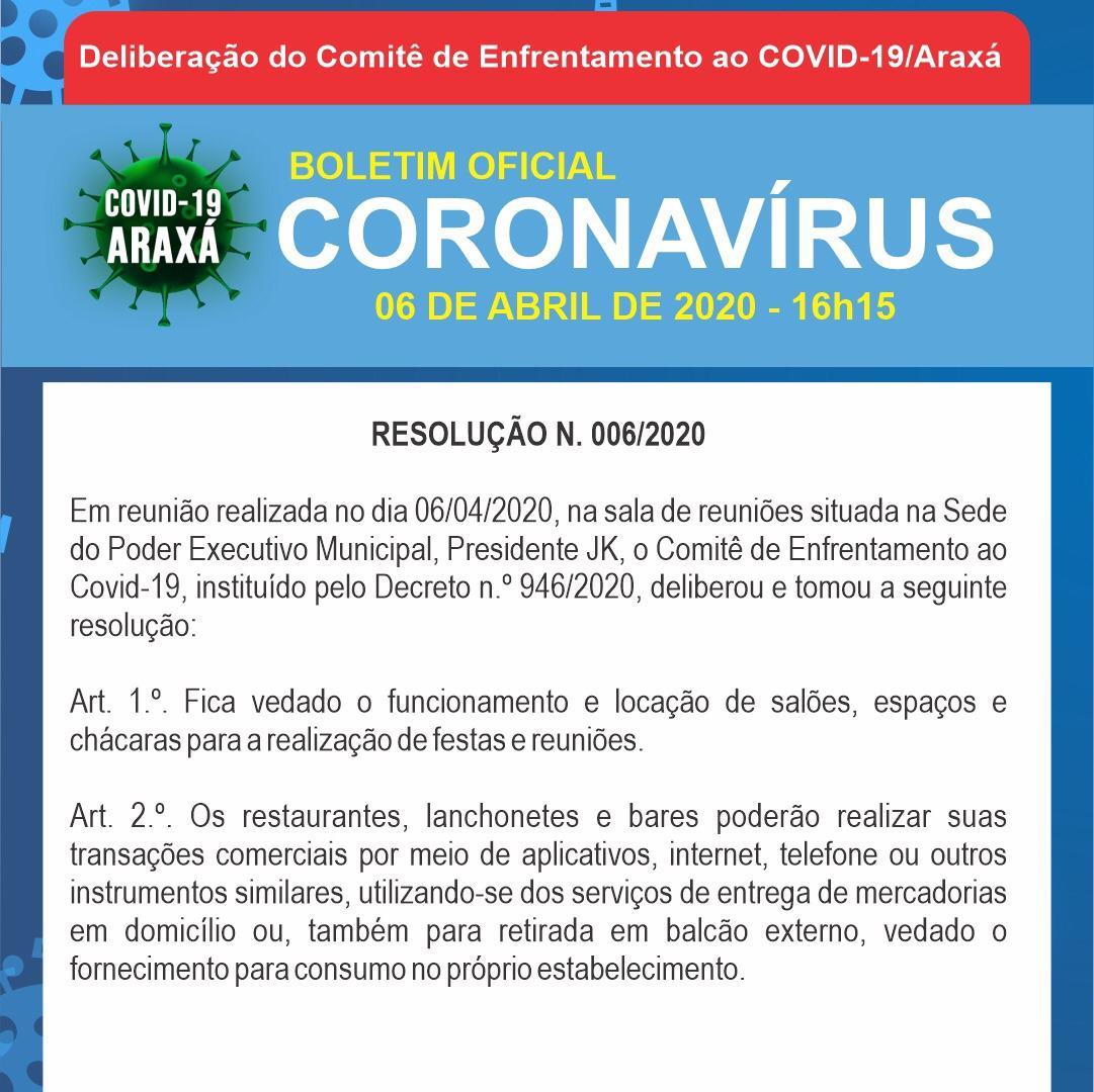 Boletim epidemiológico de Araxá tem 33 casos suspeitos e 17 descartados; dois óbitos ainda aguardam resultados 3