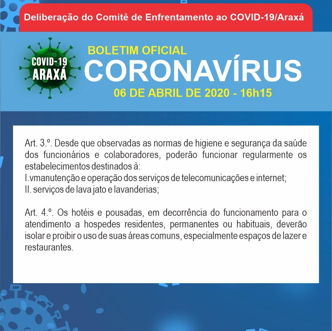Boletim epidemiológico de Araxá tem 33 casos suspeitos e 17 descartados; dois óbitos ainda aguardam resultados 4