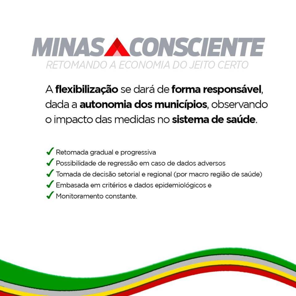 Romeu Zema apresenta plano para retomada da economia dividido em etapas 3