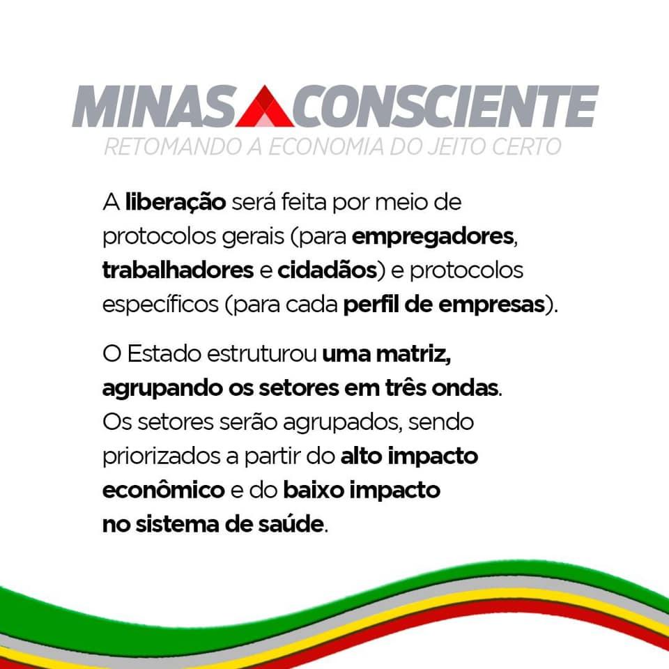Romeu Zema apresenta plano para retomada da economia dividido em etapas 4