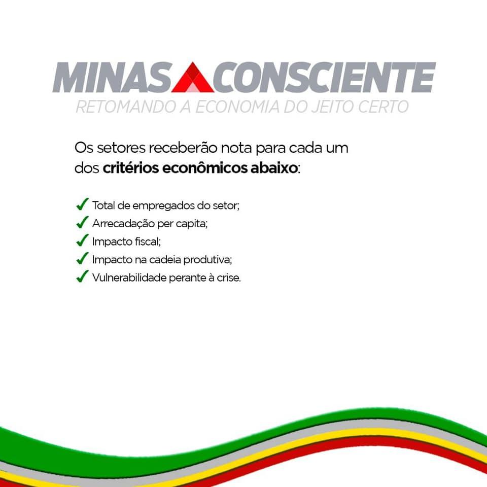 Romeu Zema apresenta plano para retomada da economia dividido em etapas 5