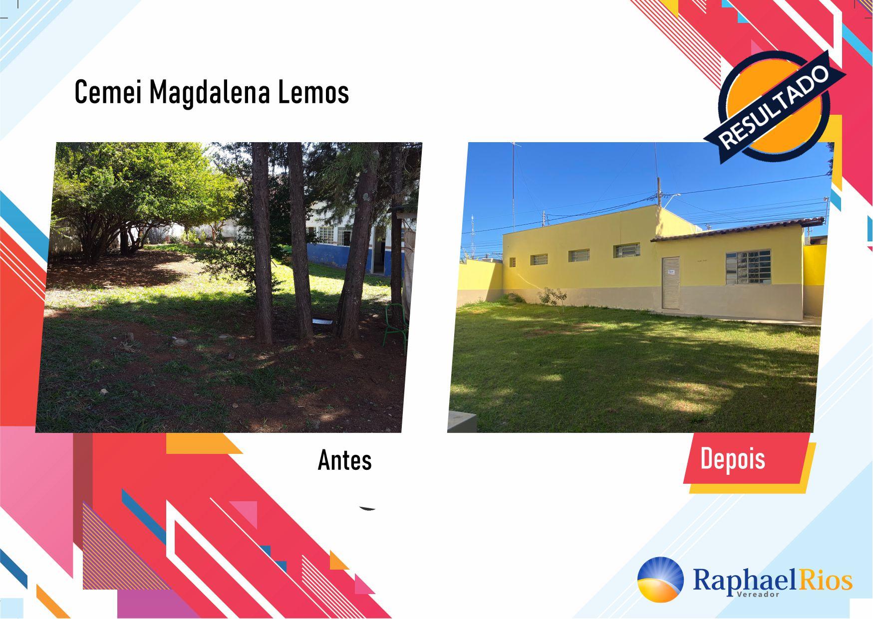 Após fiscalização, Raphael Rios confere reforma geral do Cemei Magdalena Lemos 1
