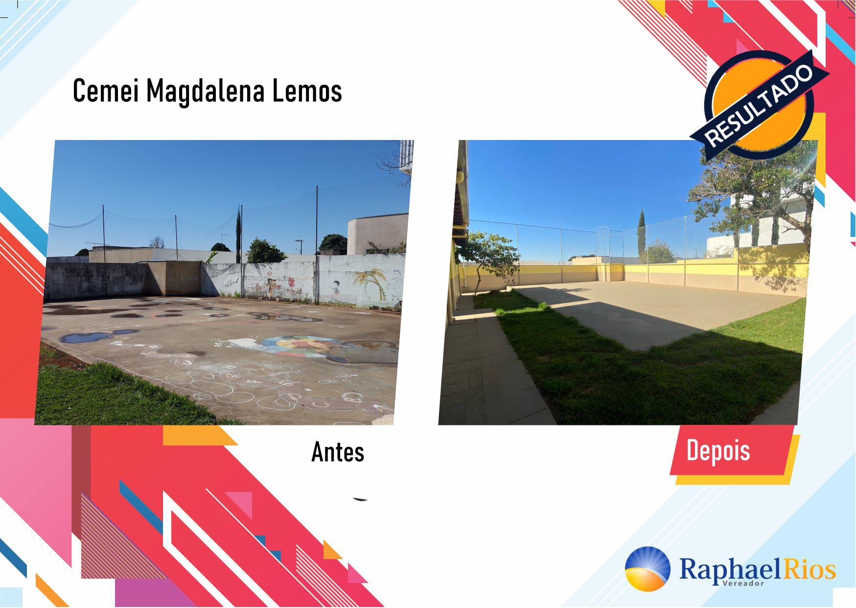 Após fiscalização, Raphael Rios confere reforma geral do Cemei Magdalena Lemos 10