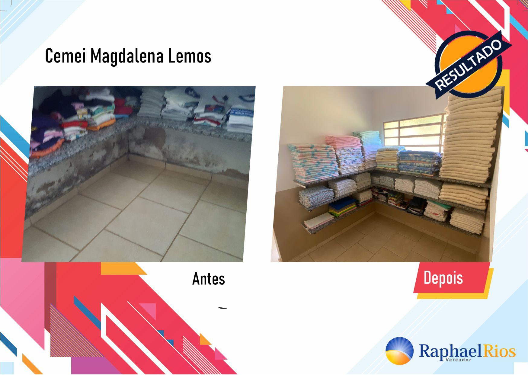Após fiscalização, Raphael Rios confere reforma geral do Cemei Magdalena Lemos 11