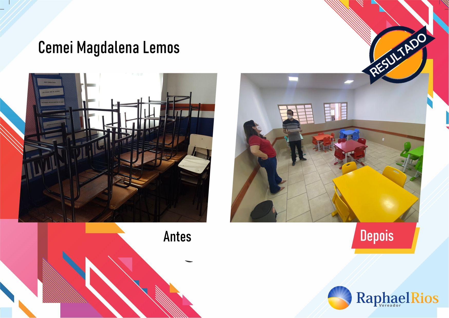 Após fiscalização, Raphael Rios confere reforma geral do Cemei Magdalena Lemos 12