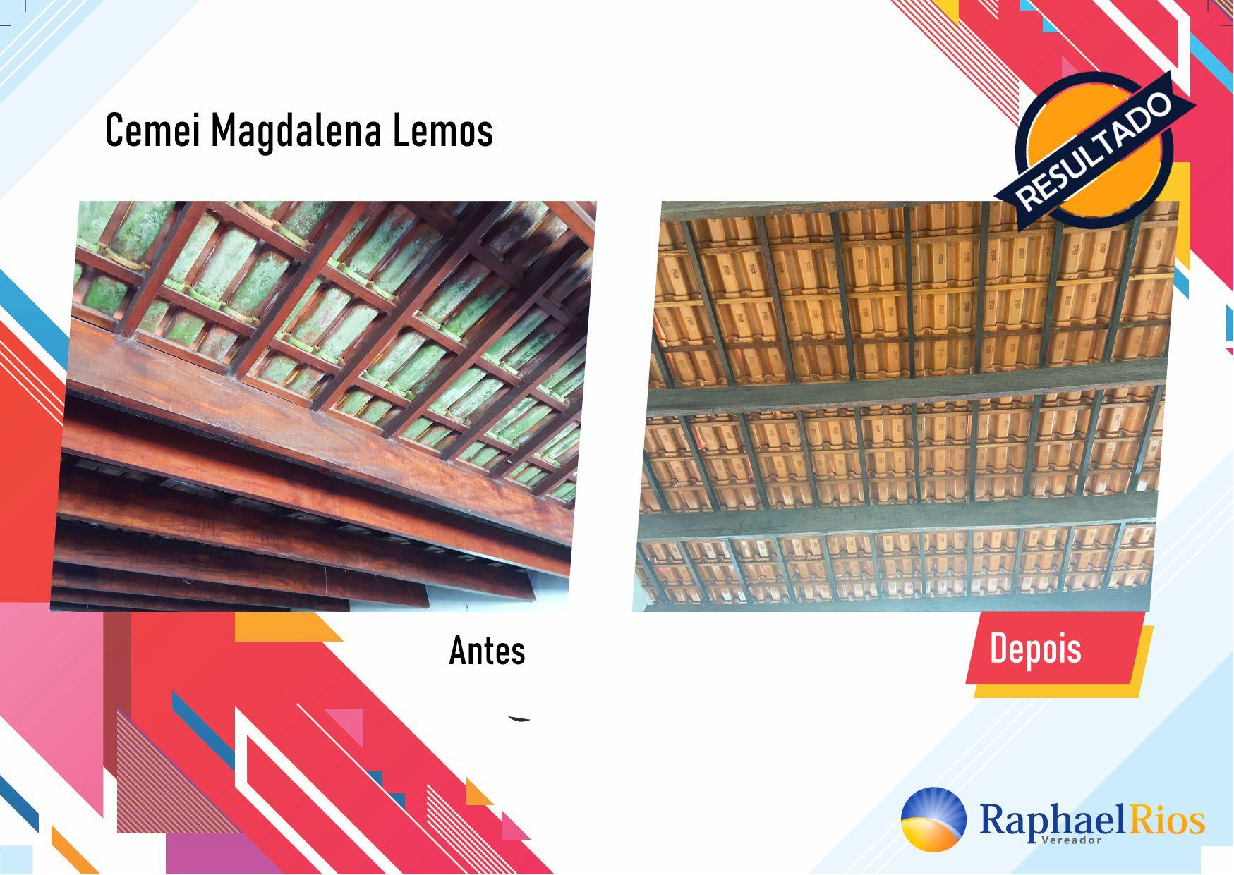 Após fiscalização, Raphael Rios confere reforma geral do Cemei Magdalena Lemos 13