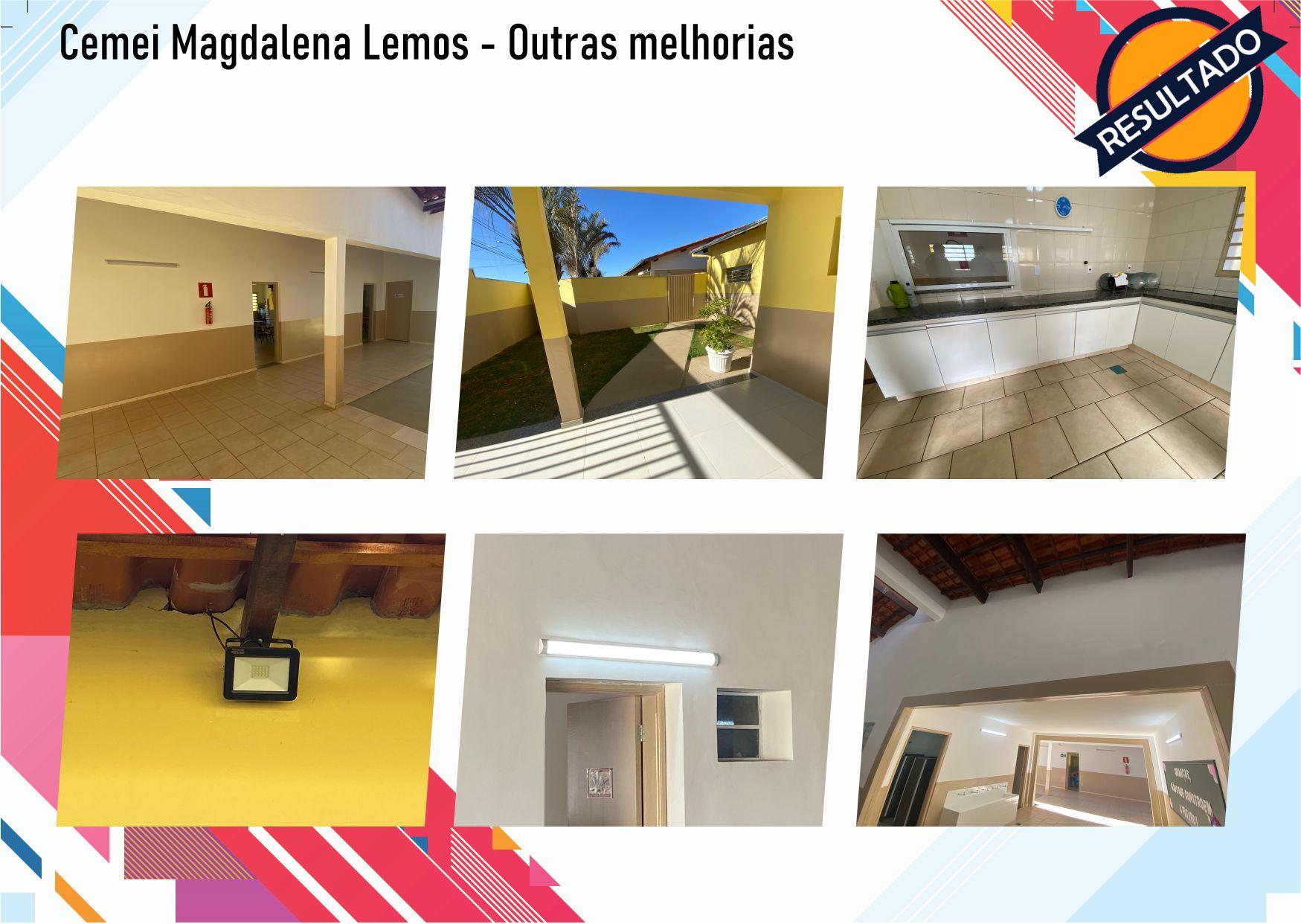 Após fiscalização, Raphael Rios confere reforma geral do Cemei Magdalena Lemos 14
