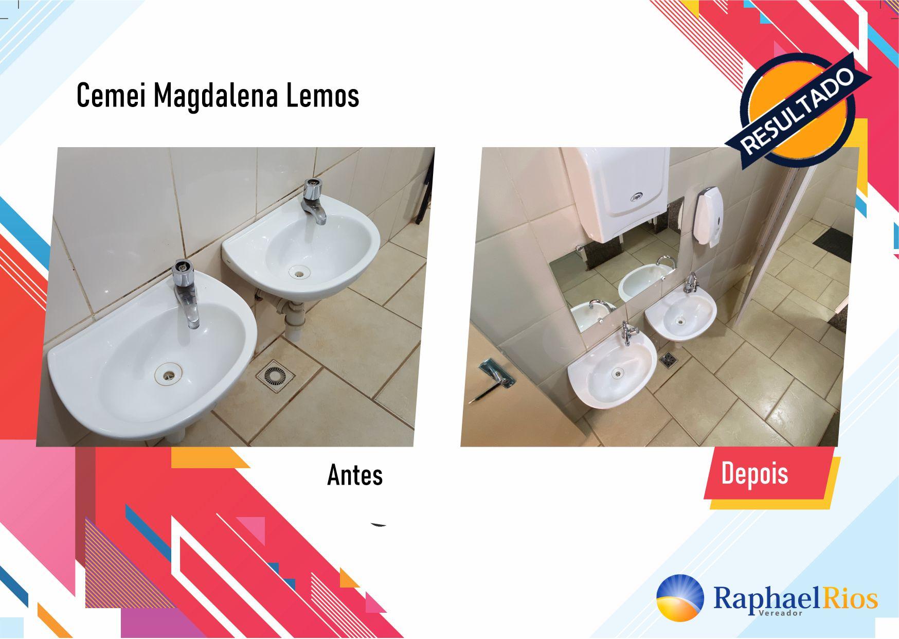 Após fiscalização, Raphael Rios confere reforma geral do Cemei Magdalena Lemos 3