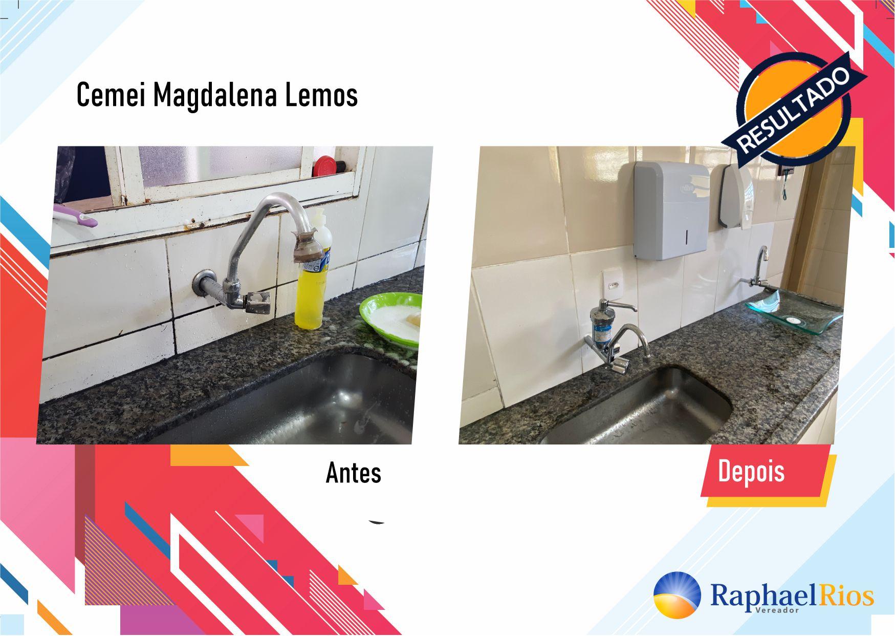 Após fiscalização, Raphael Rios confere reforma geral do Cemei Magdalena Lemos 4
