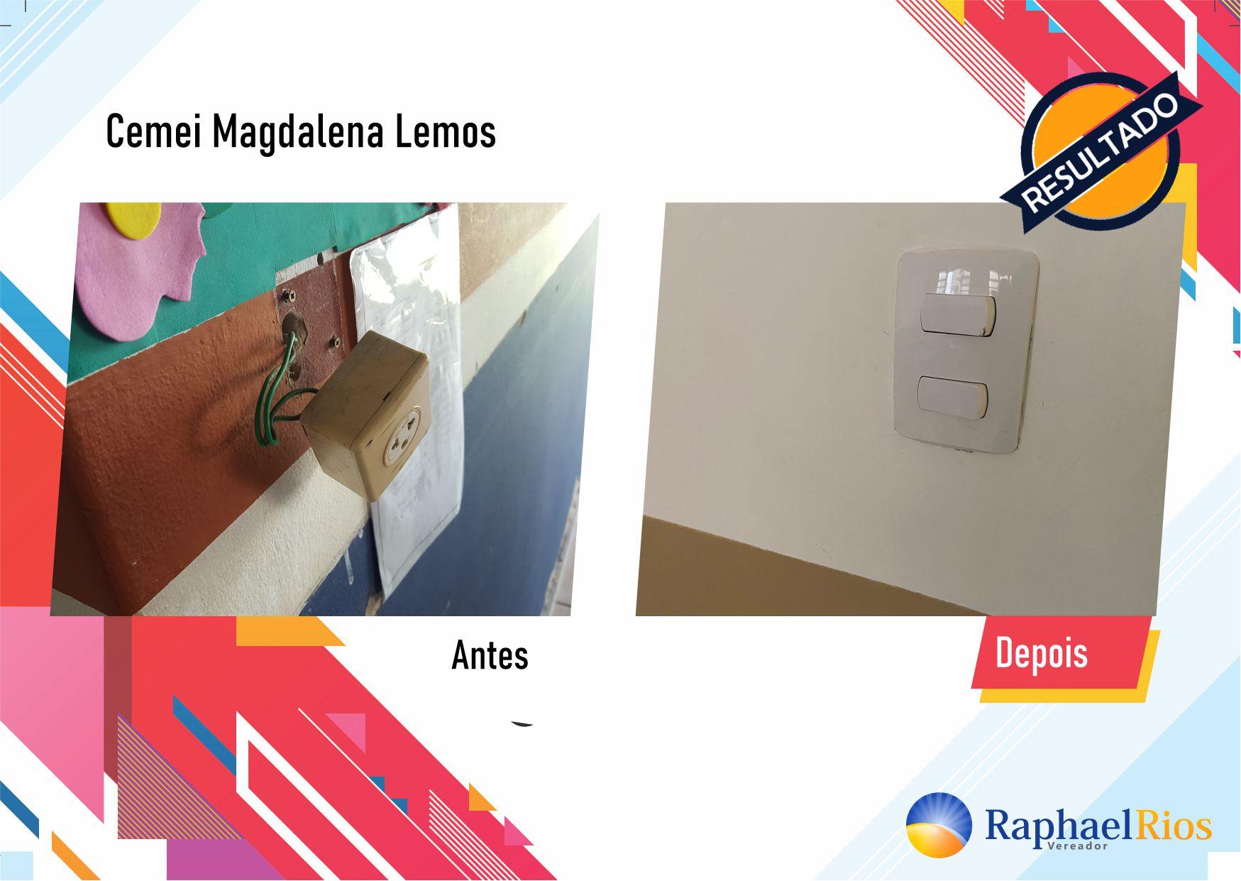 Após fiscalização, Raphael Rios confere reforma geral do Cemei Magdalena Lemos 5