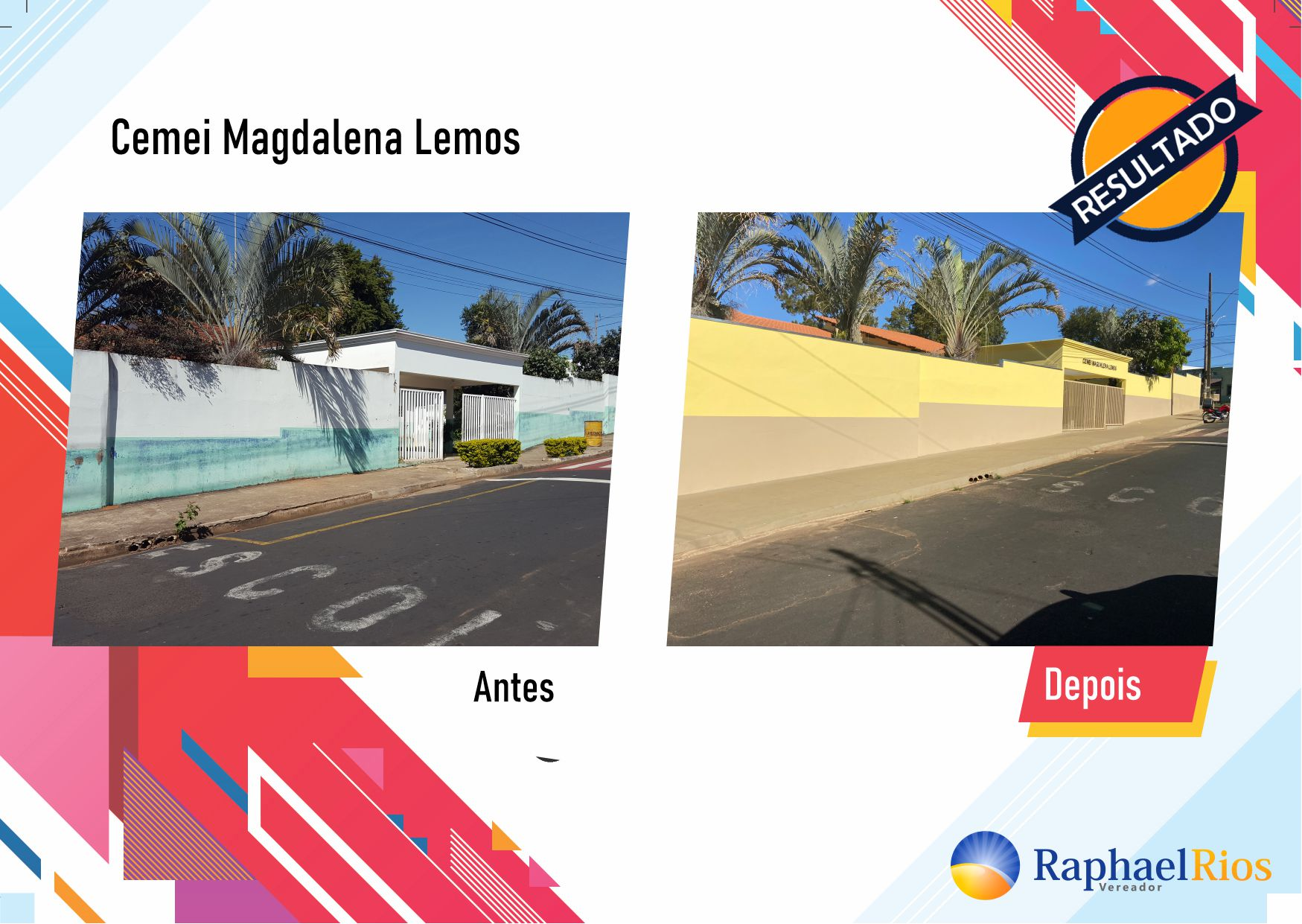 Após fiscalização, Raphael Rios confere reforma geral do Cemei Magdalena Lemos 6