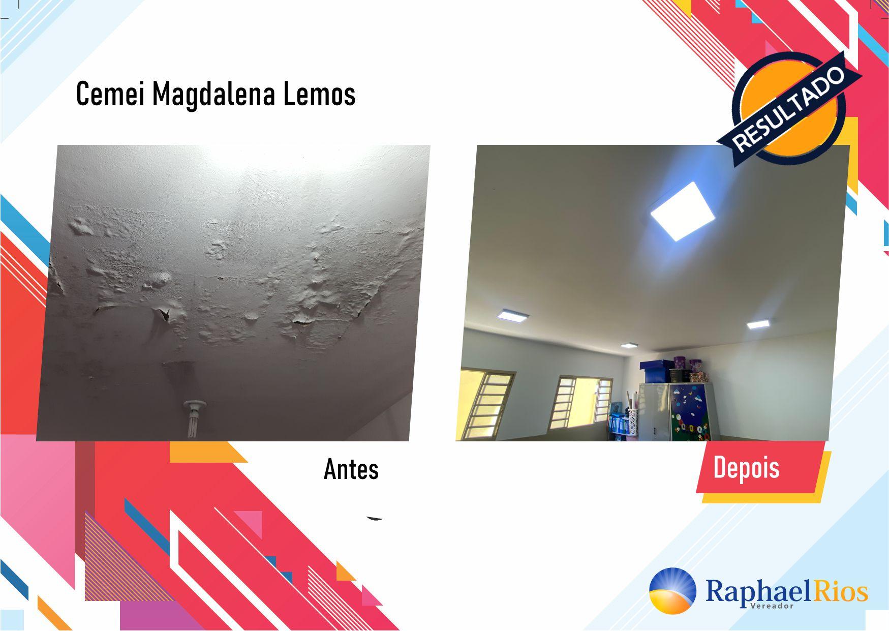 Após fiscalização, Raphael Rios confere reforma geral do Cemei Magdalena Lemos 7