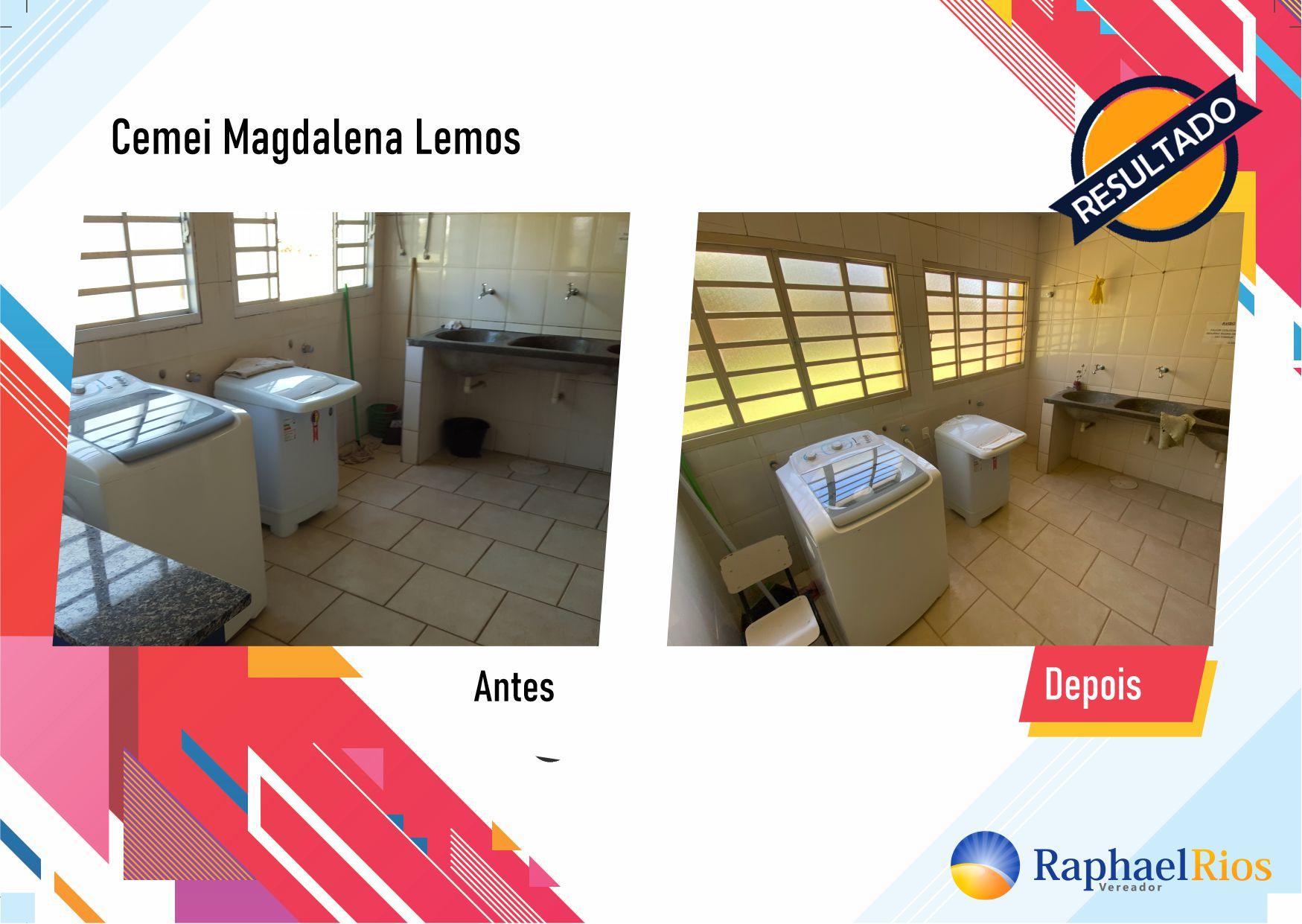 Após fiscalização, Raphael Rios confere reforma geral do Cemei Magdalena Lemos 8