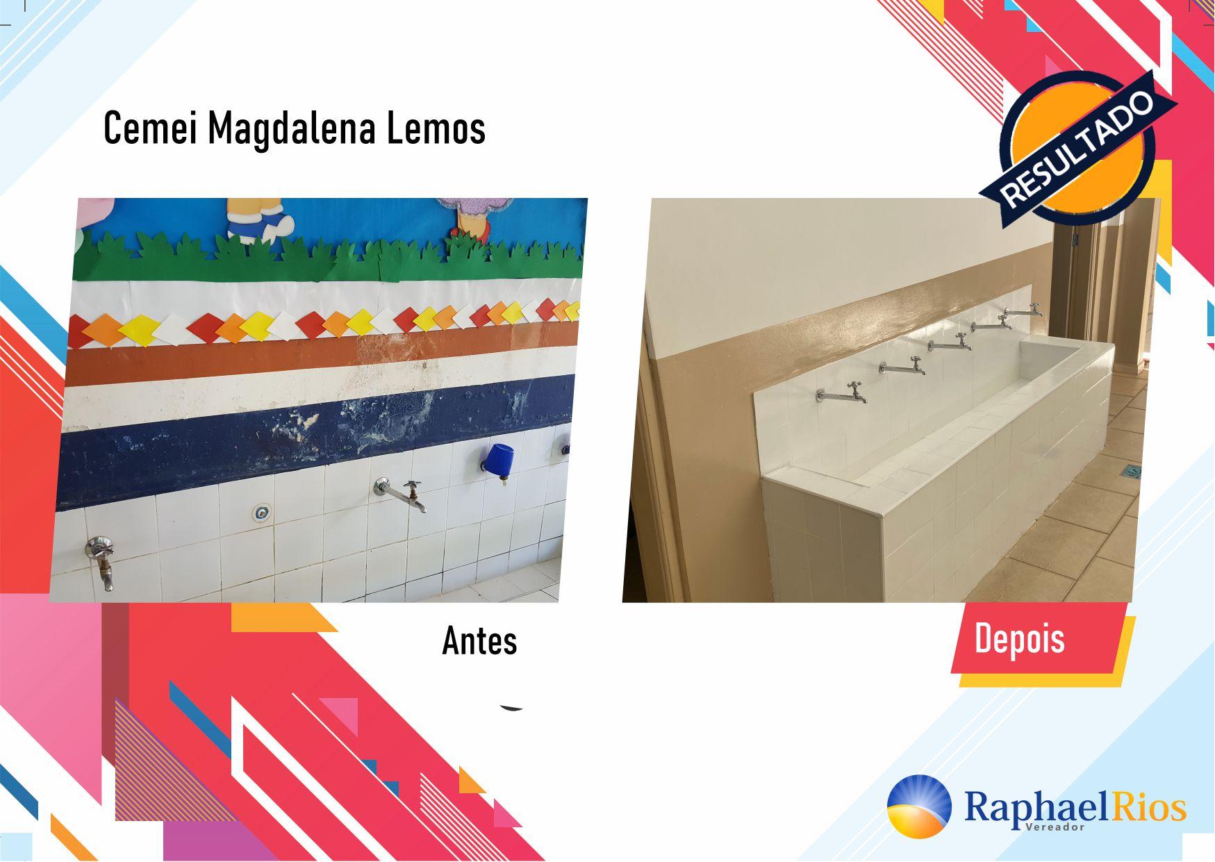 Após fiscalização, Raphael Rios confere reforma geral do Cemei Magdalena Lemos 9
