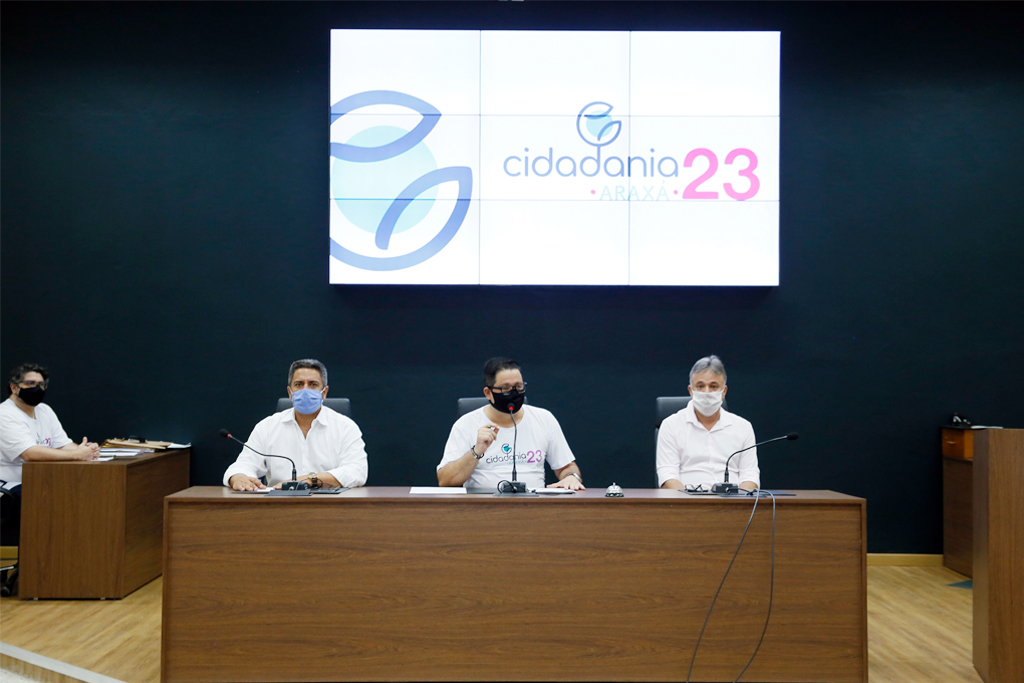Convenção do Cidadania oficializa chapa Robson e Mauro como candidatos a prefeito e vice 1