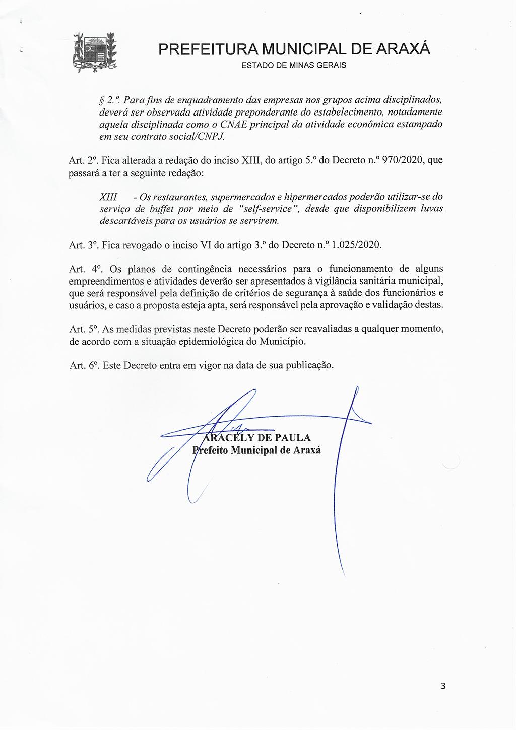 Prefeitura e Comitê de Enfrentamento à Covid-19 liberam funcionamento do comércio em horário normal 3