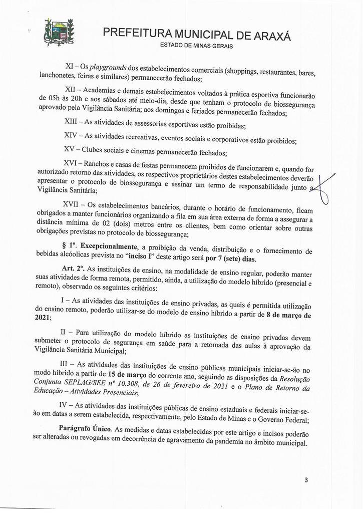 Comitê de Enfrentamento à Covid-19 prorroga Lei Seca 3